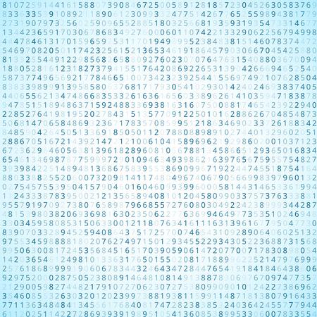 cryptogram: Binary code Illustration