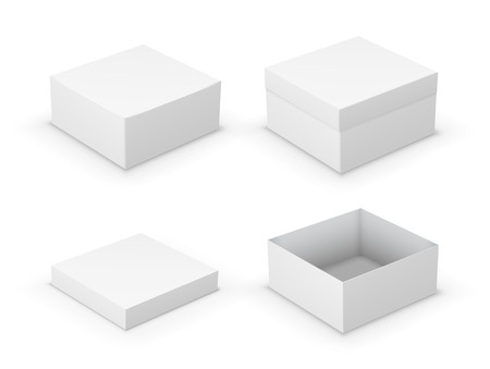 software box: Open boxes