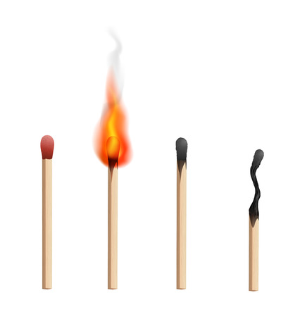 matchstick: Match Illustration