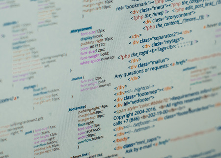 webmaster website: Html code