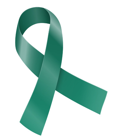 gynecologic: Ribbon Illustration
