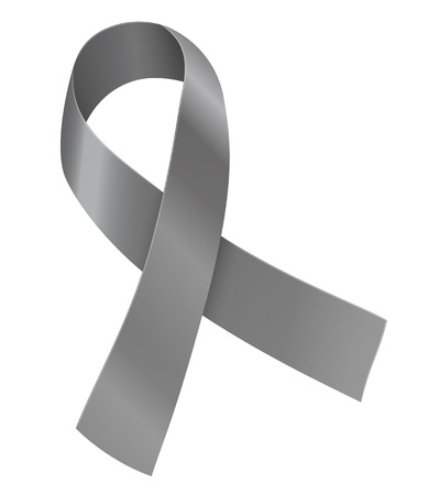 brain cancer: Ribbon Illustration