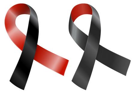 awareness ribbons: Ribbon Illustration