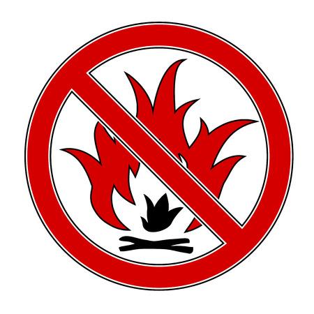 forewarning: No Fire Illustration