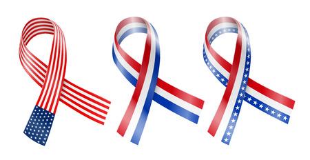 labor policy: Flag Ribbon
