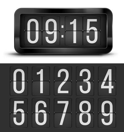 tableau: Clock table