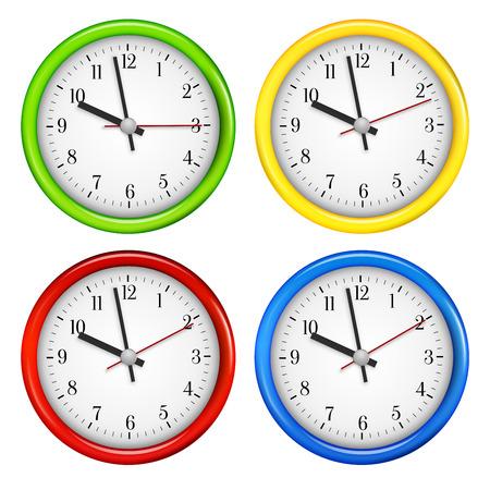 Wall clocks Vector