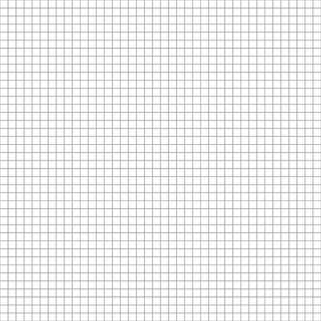 grid paper: Technical 5mm step gray grid. Square cell seamless pattern background