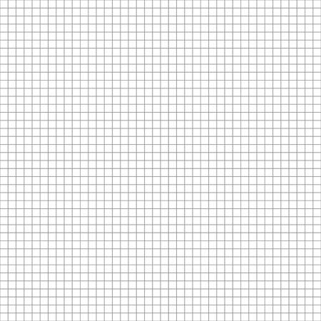 Technische 5mm stap grijs raster. Vierkante cel naadloze patroon achtergrond