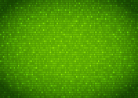 binary background: Binary background green screen, machine code cypher, black, vector background