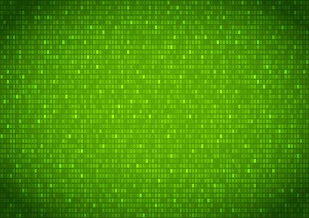 listing: Binary background green screen, machine code cypher, black, vector background