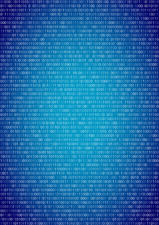 cryptography: Binary machine code, computer program listing.  Vertical vector a4 background