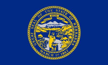 nebraska: Nebraska USA State Flag