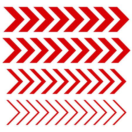 sideways: Arrow linear fast moving signs sideways set .