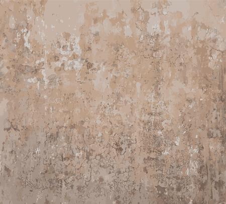 Rusty ancienne peint grungy mur vieilli vecteur fond