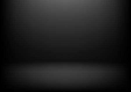 製品のプレゼンテーションのための明確なスタジオ黒暗いベクトルの背景