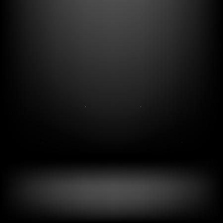 product presentation: Clear studio dark vector black background for product presentation Illustration