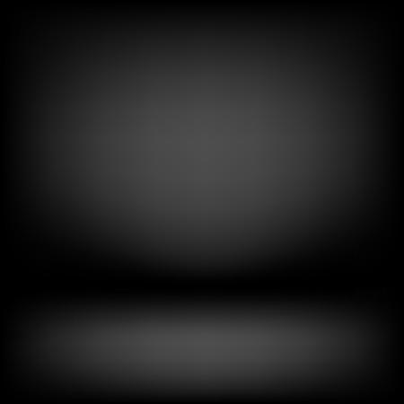 Klar Studio dunklen Vektor schwarzem Hintergrund für Produktpräsentation Vektorgrafik