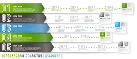 variant: Timeline Infographic Template