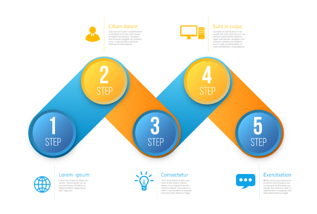 checkpoint: Infographics with steps or options