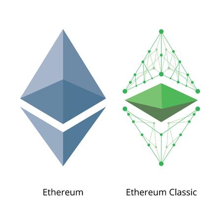 Ethereum Logo Set