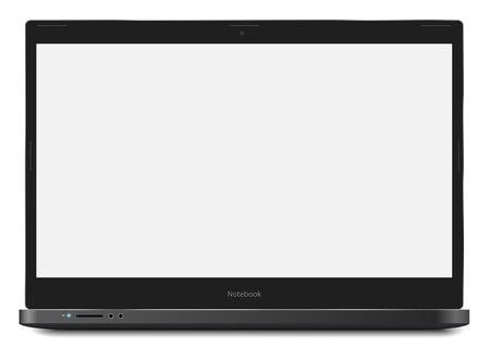 Notebook Laptop Template