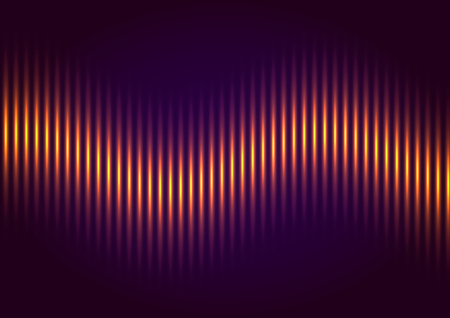 Abstract music equalizer Illustration