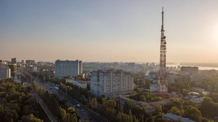 Telecom city tower Banco de Imagens