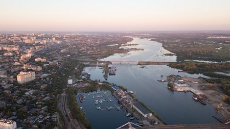 City River Bridges Stok Fotoğraf