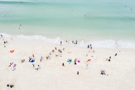 Sandy sea beach Stok Fotoğraf