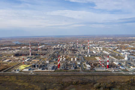 Oil refinery construction