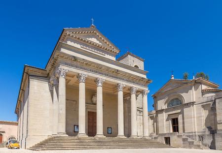 San Marino cathedral in Republic of San Marino