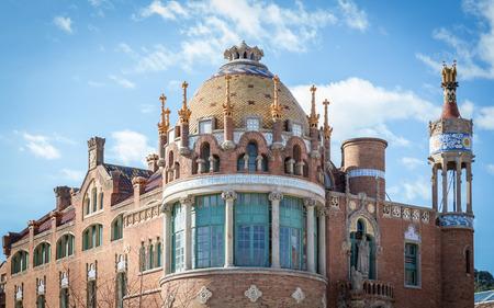 Hospital de la Santa Creu i Sant Pau in Barcelona, Spain