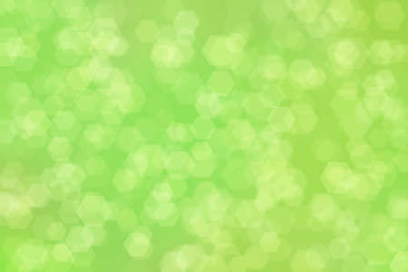 Natural green abstract background. Soft light defocused spots
