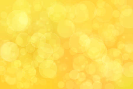 orange abstract defocused background with circle shape bokeh spots