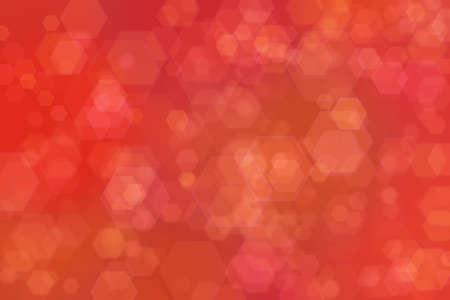Red bokeh abstract blur light background.