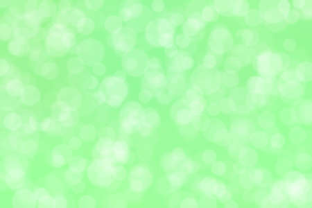 light green abstract defocused background with circle shape bokeh spots Stock fotó