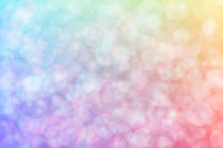 Abstract background with pink and blue colors and their transition and blurred light spots.