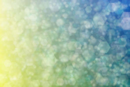 Warm to cold color transitions and defosused spots. Gradient with bokeh. Abstract background 版權商用圖片