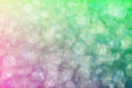 Harmonic gradient with transitions of cold and warm colors and bokeh. Abstract background