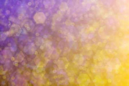 Abstract background with gradient from yellow to purple and different mixtures.