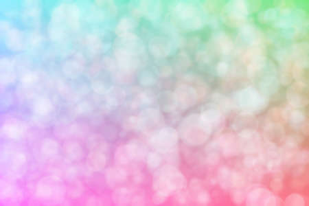 pink and blue abstract defocused background with circle shape bokeh spots