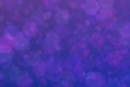 Deep dark violet bokeh. Abstract background. 스톡 콘텐츠