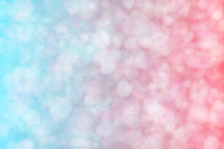 Abstract background with pink and blue colors and their transition and blurred light spots. 版權商用圖片
