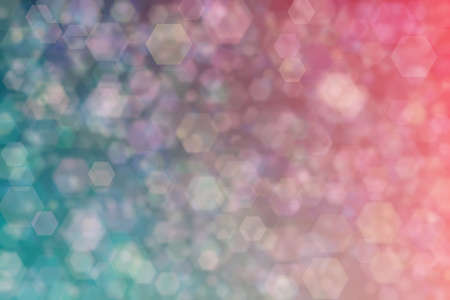 Beautiful harmonic mysterious backgeound with dark blue and green and pink colored bokeh. 版權商用圖片 - 168020196