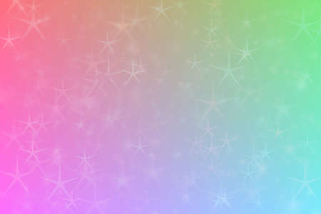 pink and blue abstract defocused background with star shape bokeh spots 版權商用圖片