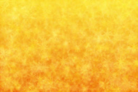 orange and yellow abstract defocused background with star shape bokeh spots 스톡 콘텐츠