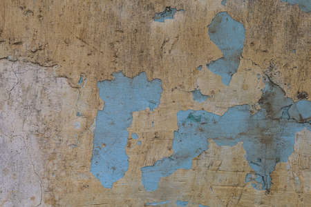 Old cracked grunge texture wall background, toned Foto de archivo