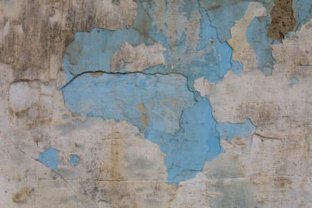 Old cracked grunge texture wall background, toned Foto de archivo - 153525885