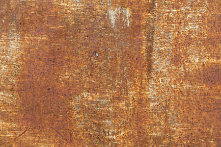 Textured metallic rusty metal surface. Rough background for design. Graphic resource